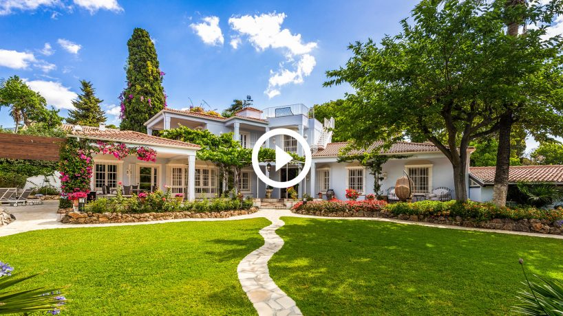 New Video: Charming 6-bed family villa by Marbella's Golden Mile