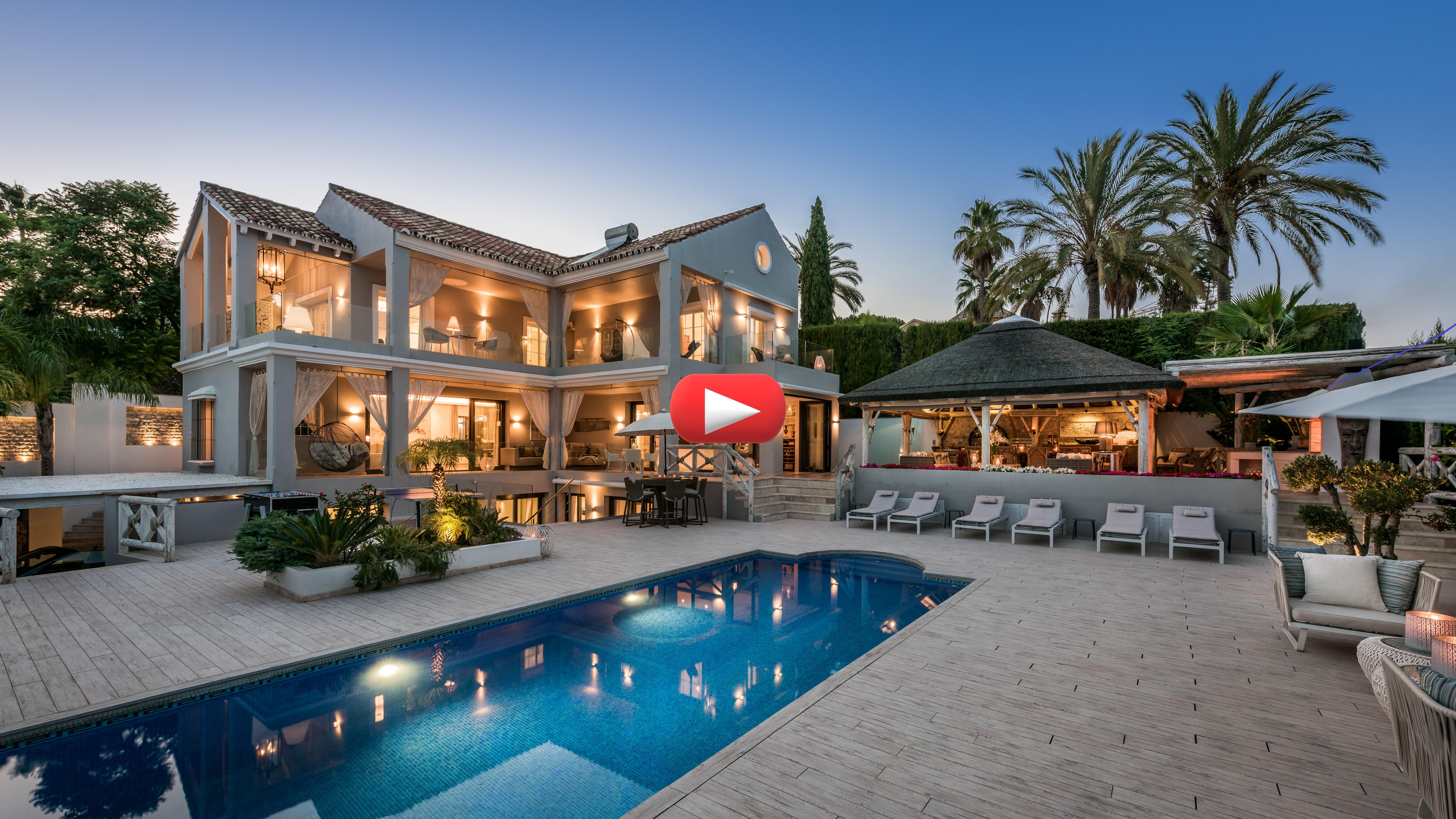 Nuevo video: Casa espectacular en el Valle del Golf, Marbella