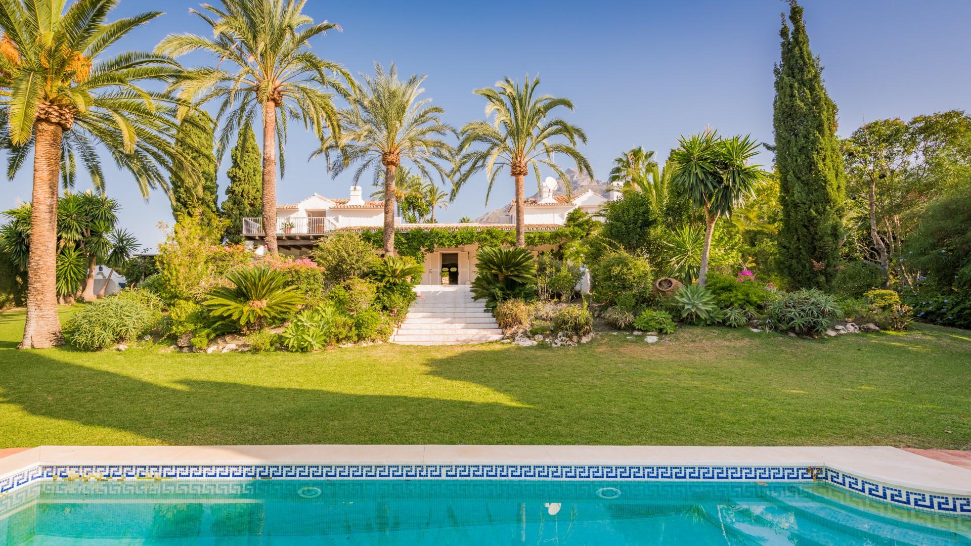 Exceptional Marbella villa for sale
