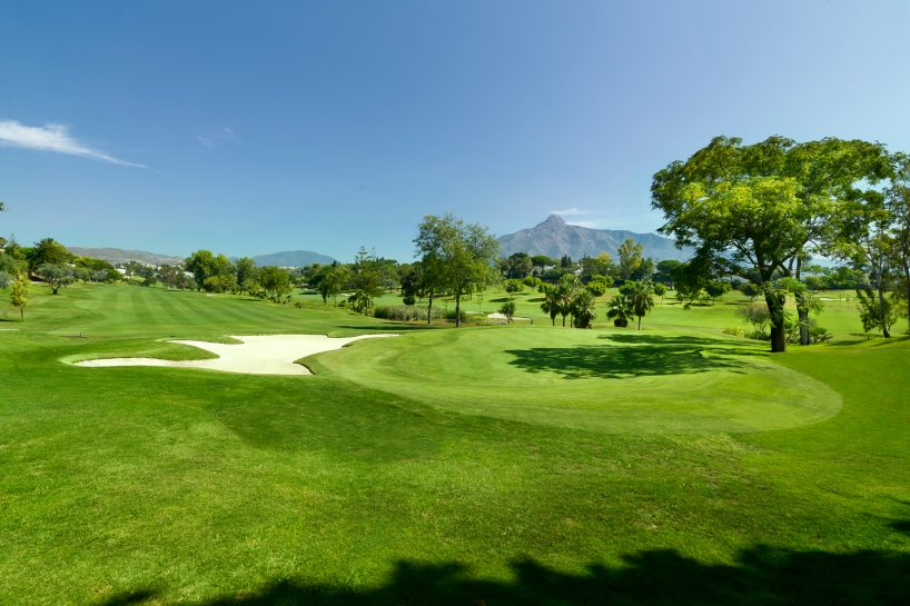 View of Costa del Golf view in Marbella