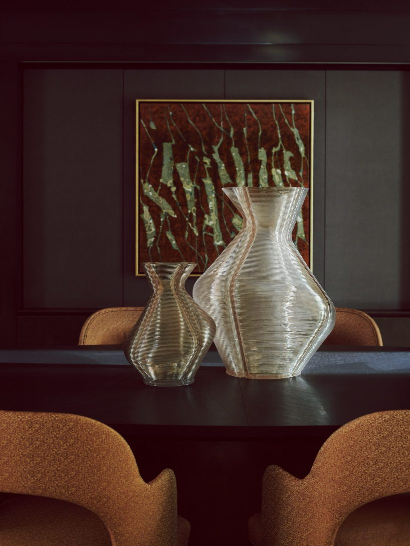 Elicyon vases created from 100 percent reclaimed synthetics - shot by Michael Sinclair