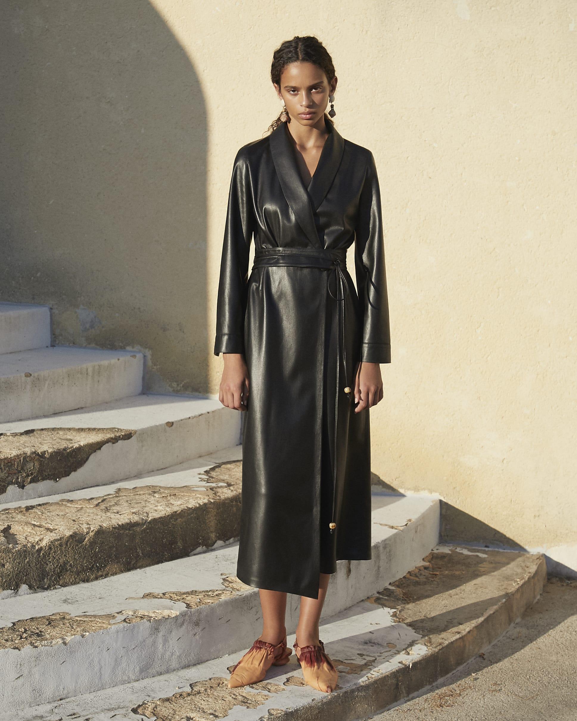 Emery Black - Vegan Leather