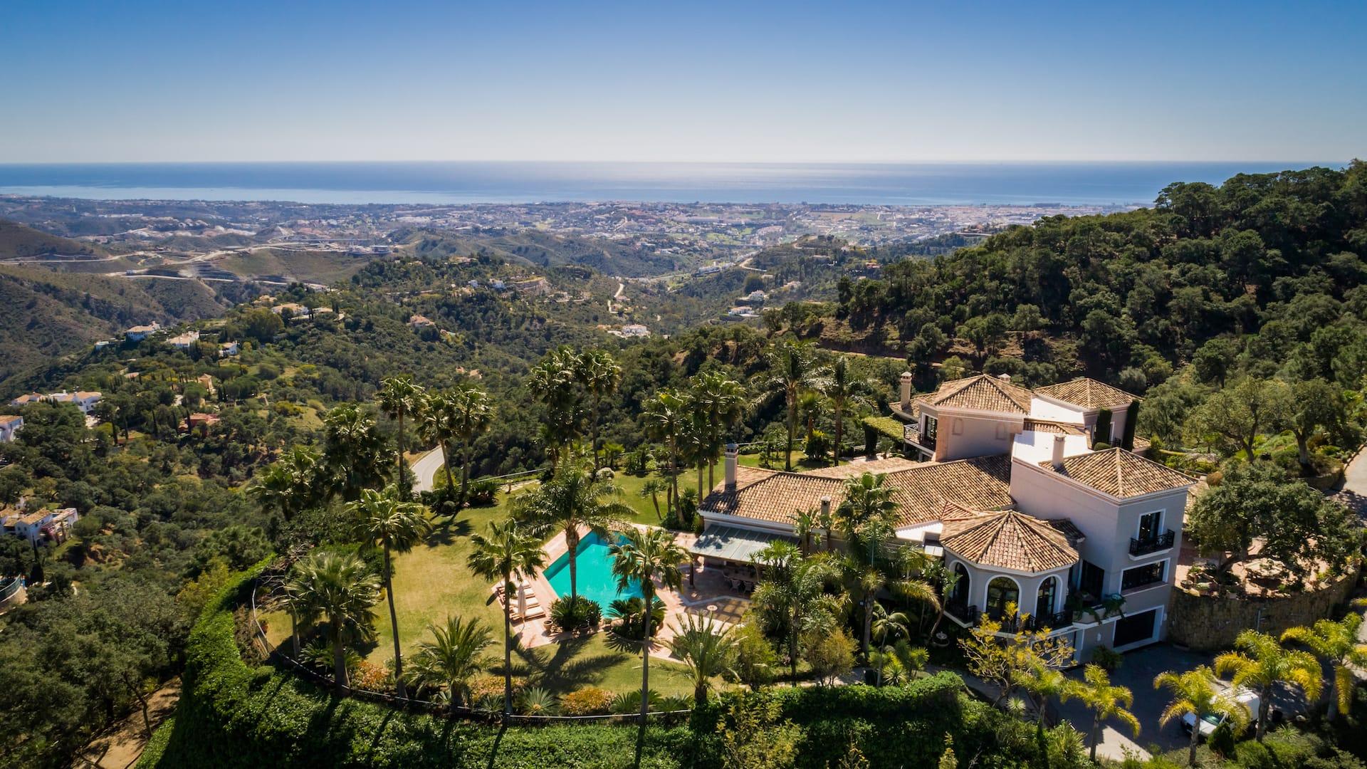 El confinamiento ideal, o una casa post Covid en Marbella