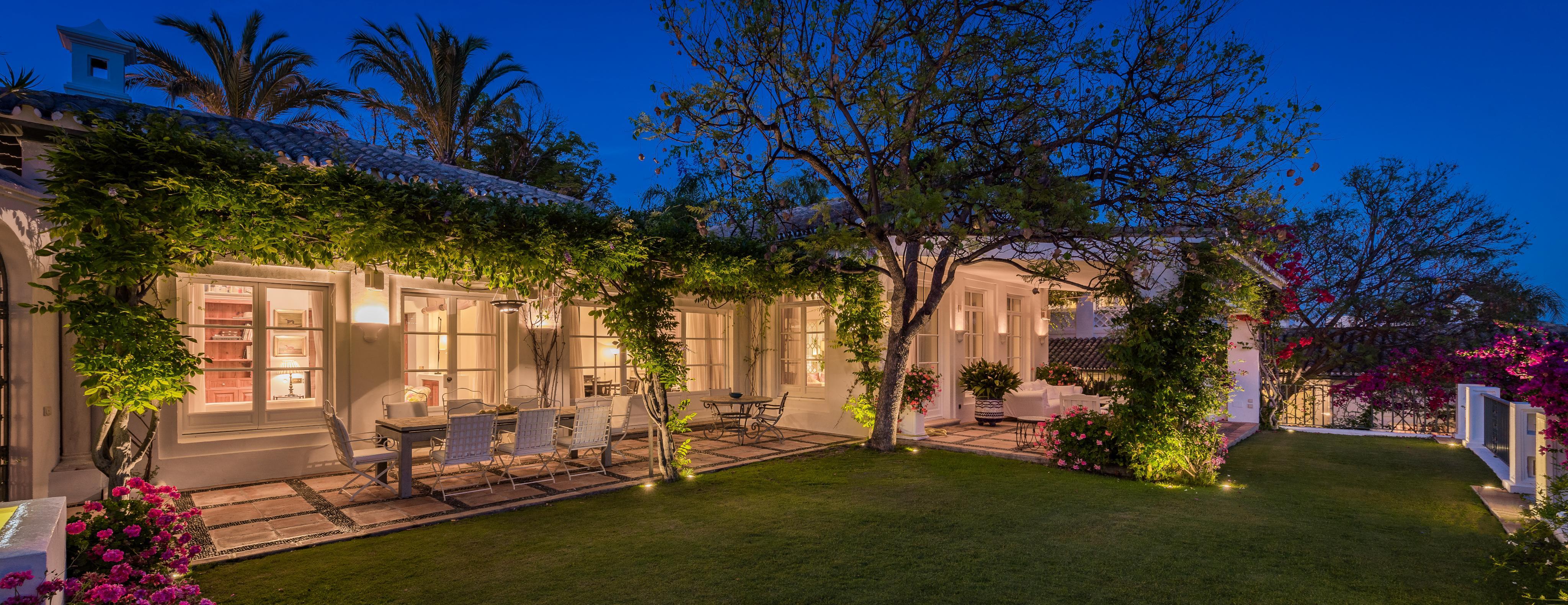 Distinguida residencia en Sierra Blanca