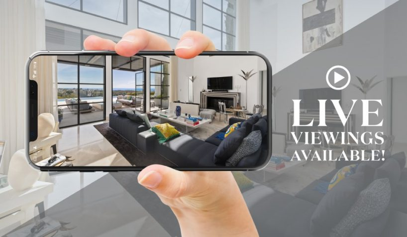 Virtual property tours and live viewings in Marbella
