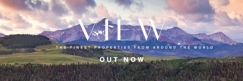 New Knight Frank's VIEW publication with the finest properties across the globe