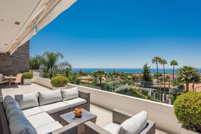 Nagüeles, a combination of modern and classic Marbella