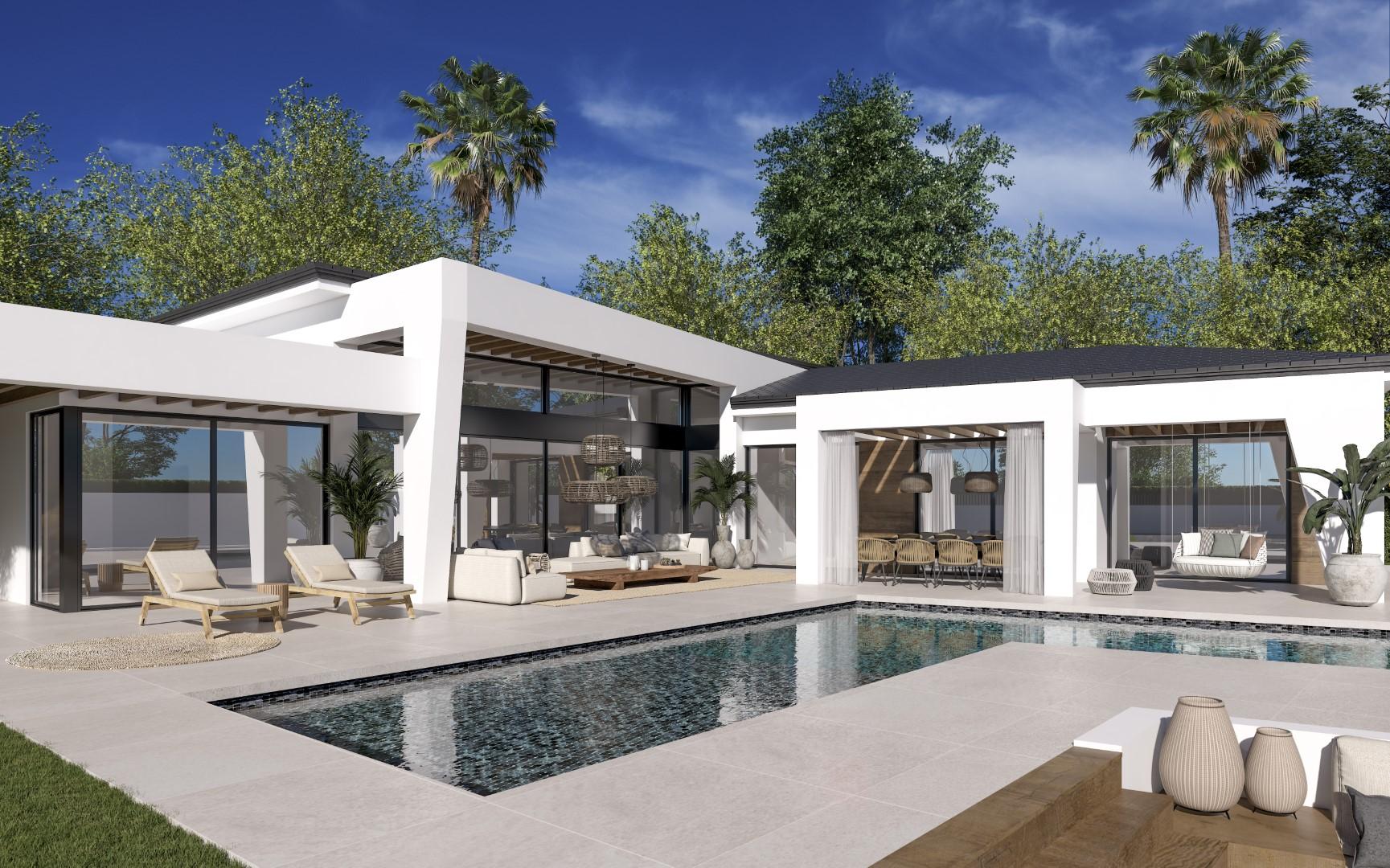 Villas in the Golf Valley under 2 million euro