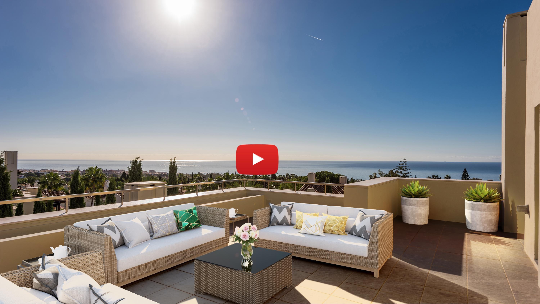Nuevo video: Vea este espectacular ático dúplex en la Milla de Oro de Marbella