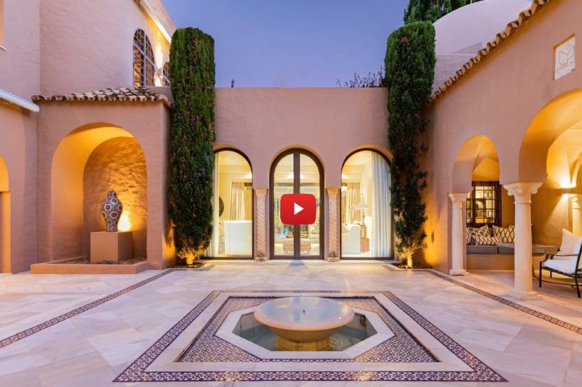Tour inside this unique Riad-style home
