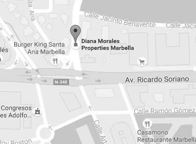 Location Map for DM Properties in Marbella, Spain