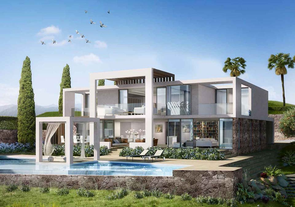 Modern properties in marbella modern villas and apartments - Luxury homes marbella ...