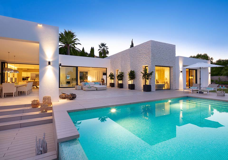 modern property in marbella costa del